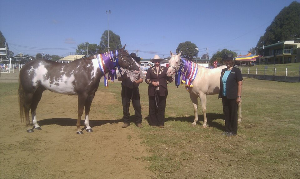 Alphy and Roxy at Warwick show 2014